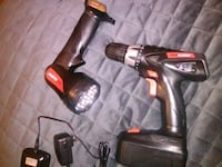 Drill master brand drill and flashlight and charge Florence, 35630
