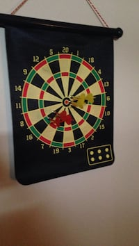 black, green, beige, and red dart board Fort Worth, 76131