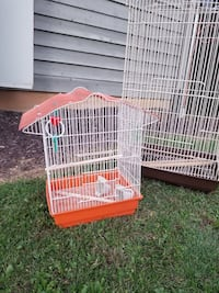 white and red pet cage Fairfax, 22033