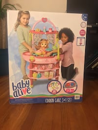 Baby alive cookn' care 3 in 1 set Seat Pleasant, 20743