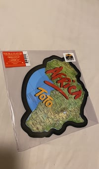 Limited edition TOTO vinyl single - Africa and Rosanna London, N5V