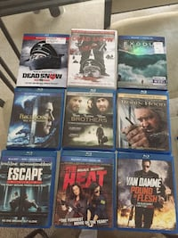 blue ray 12 movies  Westminster, 21157