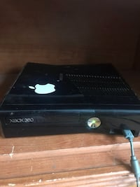Xbox 360 with two controllers and games  Derby, 06418