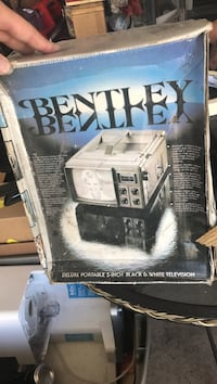 Gray and black bentley deluxe portable white television box Las Vegas, 89115