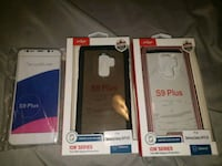 New never used cases for Samsung galaxy s9 plus Lewisburg, 37091