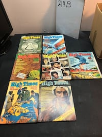 Vintage 1970s high times magazine lot of 7 Jacksonville, 32206