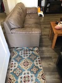 Brown/beige couch