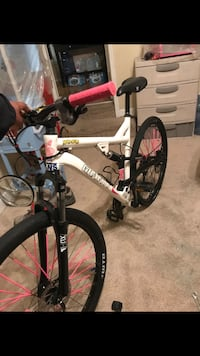 White and pink 27.5 inch with thick slick  / gold bike 29 inch Fayetteville, 28314