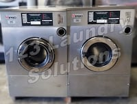 Ipso Stainless Steel, Front Load Washer 35lbs 1Ph 240v 60Hz Used La Habra