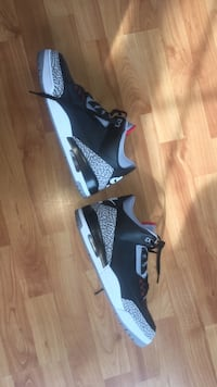 Retro 3 Cement. Size 13. With box. WORN ONCE Rotterdam