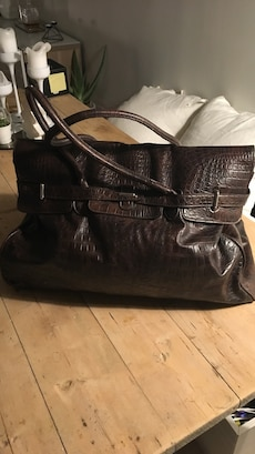 Brun weekend bag