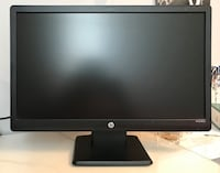 2 HP 20-inch Monitors Toronto, M1W 1H9