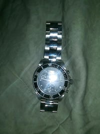round silver Rolex analog watch with silver link bracelet Capitol Heights, 20743