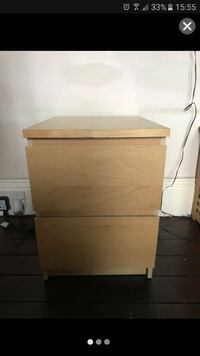 Ikea malm bedside drawer  Pudsey, LS28 8HB