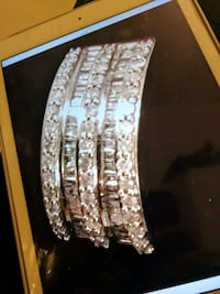 10k solid gold very heavy full of of real diamonds Algonquin