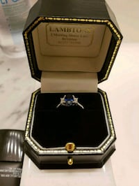 Diamond and Sapphire ring Langley, V3A 4E4