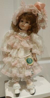Century Collection Porcelain Doll, Holly