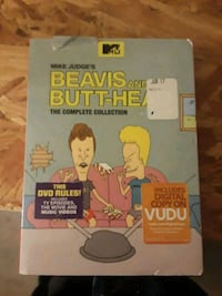 Beavis and Butt-Head the complete collection DVD case Reno, 89523