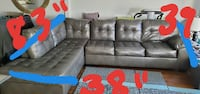 Leather Sectional for fast sale! Reston
