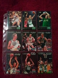 Larry Bird 9 Card Lot Morton, 61550