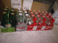 Empty Coca Cola and Canada dry ginger ale bottles Whitchurch-Stouffville, L4A 0J5