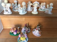 Assorted ceramic figurines of figurines Springfield, 22153
