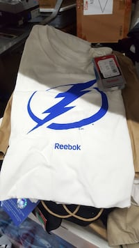 Reebok Tampa Bay Lightning shirts 2xl new with tag Tampa, 33634