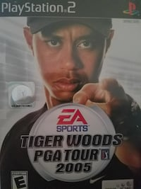 Tiger Woods PGA Tour 2005 for PS2