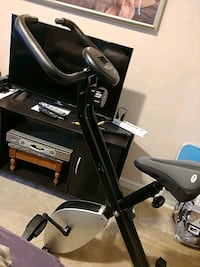 black and gray stationary bike Accokeek, 20607
