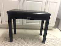 Black Yamaha piano bench  Mississauga, L5N 8H6