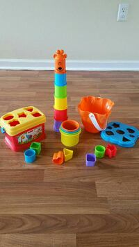 Baby Stacking Toys Shapes Cups Sorting Winchester, 22602