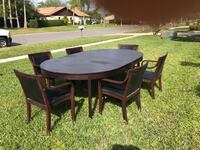 Swedish solid Cherry table with 6 chairs Sarasota, 34238