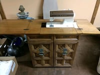singer sewing machine w/cabinet New Castle, 19720
