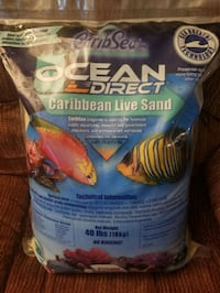 Live sand 40 lbs 2 bags 35 .00 a bag Baltimore, 21234