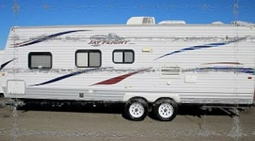 2010 Jayco Jay Flight  This unit is ready to go camping.