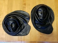 Vintage leather wall decor 3D face mask Brampton, L6R 1L5