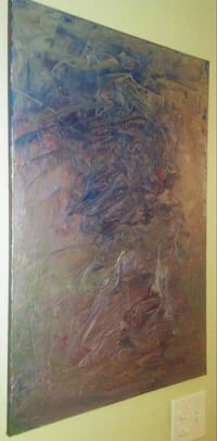 Abstract painting by local Vancouver Artist Vancouver, V6E 1J2