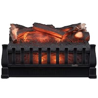 Duraflame DFI021ARU Electric Log Set Heater with Realistic Ember Bed, Antique Bronze Toronto