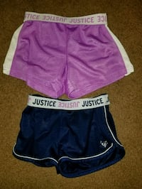Justice sz 8 shorts new condition  Frankfort, 45628