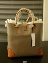 women's brown leather tote bag Bethesda, 20814