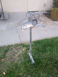 Garden hose rack and table