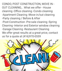 House cleaning Brampton, L7A 4E6