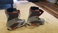 Morrow double lined snowboard boots Mens US9 Vaughan, L4J 9A2
