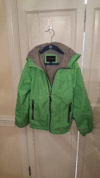 Four (4) Boys Size M/8-10 Jackets and Fleece Tysons