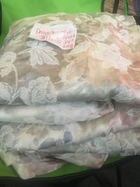4-84 inch Length Drapes-Clean & in Excellent Condition Hanover, N4N 2Y5