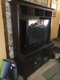 Hudson's TV Entertainment Center...TV not included, but could be for the right price. Palm Bay, 32909