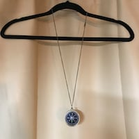 Brass Compass Necklace Paso Robles, 93446
