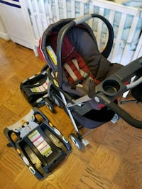 Carseat + srtoller + 2 carseat base Falls Church, 22042