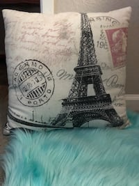 Paris Eiffel Tower decor pillow Oceanside, 92056
