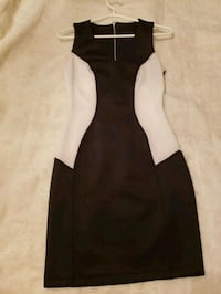 Black and white fitted dress Toronto, M1E 3S2